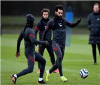 ليفربول يعود للتدريبات بمشاركة صلاح استعداداً لإيفرتون .. صور
