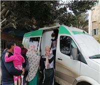 قافلة طبية شاملة في دمياط.. وتوقيع الكشف الطبي على 1203 مواطنين