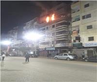 السيطرة على حريق في وحدة سكنية بنجع حمادي| صور