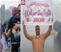 فيديو| شعراوي..والد خريجة كلية الطب يحتفل بها بطريقته الخاصة