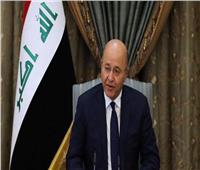 الرئيس العراقي يدعو لتصحيح المسارات السياسية تلبية لطموحات العراقيين