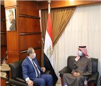 «سعفان» و«المطيري» يبحثان استعدادات عقد مؤتمر العمل العربي في دورته المقبل