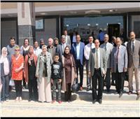 رئيس جامعة أسوان: إعداد معلمي اللاجئين والمهاجرين من أهم المشروعات الدولية