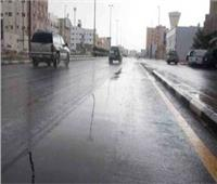 أمطار خفيفة تضرب قري ومدن المنيا