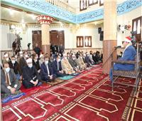 محافظ المنوفية ووزير الأوقاف يفتتحان مسجد «عصمت السادات»