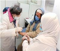 صحة المنيا: فحص وعلاج 1506 حالة في قافلة بقرية دلجا بمركز ديرمواس