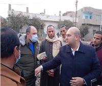 نائب محافظ الجيزة يتفقد أعمال تطهير مصرف نزار الجبل بالبدرشين