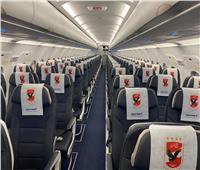 طائرة النادي الأهلي تقلع في طريقها إلى تنزانيا