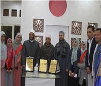صور | تكريم 21 حافظًاً لكتاب الله في احتفالية بنجع حمادي