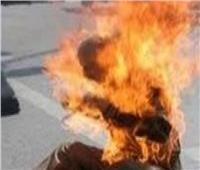 شاب يُشعل النيران في نفسه داخل محطة وقود في طنطا