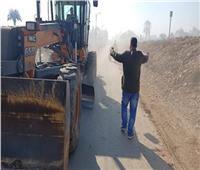 استمرار أعمال حملات النظافة وتمهيد شوارع ملوى