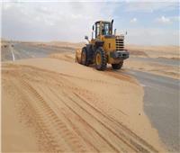 إنشاء حواجز ترابية لتجميع مياه السيول بوسط سيناء