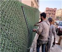 حملة لإزالة التعديات ورفع الإشغالات بمشروع «دار مصر» بالشروق