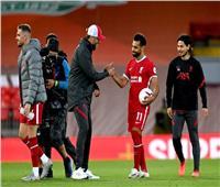 محمد صلاح يقود هجوم ليفربول أمام إيفرتون
