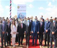 وزير التعليم العالي يضع حجر الأساس لجامعة حلوان الأهلية