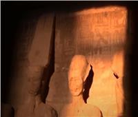 عبقرية فرعونية.. سر تعامد الشمس في المعابد المصرية   فيديو