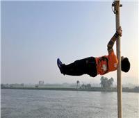 عمره 68 عاما ويمارس الرياضة على كورنيش النيل بالمنيا