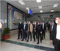 وزير السياحة يشيد بالإجراءات الاحترازية والخدمات المقدمة بمطار الغردقة