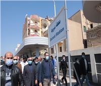 وزير النقل ومحافظ أسيوط يشهدان افتتاح ودخول برج إشارات ديروط