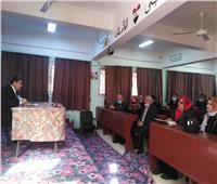 «تعليم سيناء» تناقش قرارات عودة الدراسة ومواعيد الامتحانات
