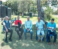 سفير مصر في تنزانيا يحضر مران الأهلي
