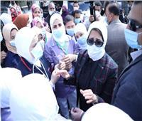 وزيرة الصحة: المجمع الطبي بالإسماعيلية استقبل 1500 مواطن خلال اليوم الثاني لافتتاحه