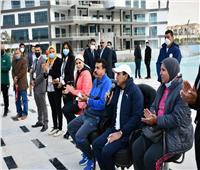 أشرف صبحي يعقد لقاءً حوارياً مع المشاركين بمهرجان مراكز شباب مصر