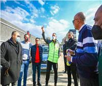 «الخطيب» يتفقد المشروعات الإنشائية في فرع نادي الأهلي بمدينة نصر