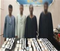 ضبط 70 متهما بحوزتهم مخدرات وسلاح في الجيزة