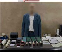 سقوط أخطر مزور تأشيرات في قبضة مباحث الأموال العامة بالجيزة