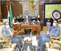 محافظ المنوفية يلتقي أعضاء النوابللإرتقاء بمستوي الخدمات المقدمة للمواطنين