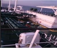 شاهد | وصول أول سفينة لتصدير الغاز الطبيعي