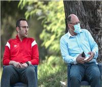الدماطي يستقبل السفير المصري بتنزانيا في مران الأهلي