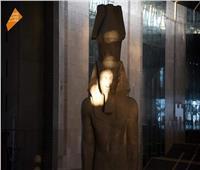 تعامد الشمس على وجه رمسيس الثاني بالمتحف المصري الكبير