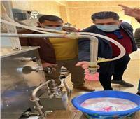 «التموين» تتحفظ على منتجات مصنع «آيس كريم» بالفيوم لاستخدام خامات مجهولة