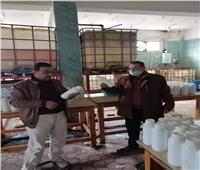«التموين» تتحفظ على 5 طن مُخصبات زراعية بدون فواتير بالبحيرة