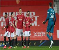 مانشستر يونايتد يفوز على نيوكاسل بـ«ثلاثية» ويرتقي للوصافة | فيديو
