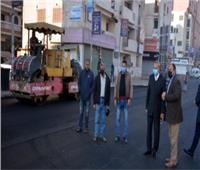 تطوير ورصف ميدان «كاميليا» بمدينة بنها في القليوبية