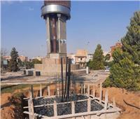 بدء تنفيذ أبراج كهرباء الـ«هاي ماست»  بالميادين الرئيسية بمدينة بدر