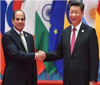 الرئيس السيسي ونظيره الصيني يناقشان العلاقات الثنائية بين البلدين