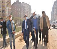 محافظ الغربية يتفقد أعمال التطوير بمدينة طنطا