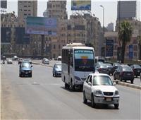 الحالة المرورية   سيولة بالطرق الرئيسية في القاهرة والجيزة