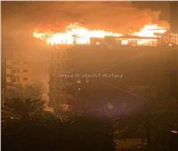 حريق هائل في عقار بمحافظة دمياط.. بسبب الطقس السيء
