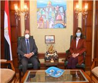 وزيرة الهجرة تبحث سبل التعاون مع الأكاديمية العربية للعلوم والتكنولوجيا