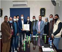 محطة مياه المنشأة بسوهاج تحصل على شهادة اعتماد خطط «سلامة ومأمونية»