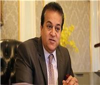 وزير التعليم العالي يستعرض تقريرًا عن أنشطة جامعة بني سويف التكنولوجية