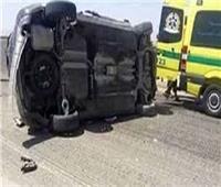 مصرع شخص وإصابة 3 آخرين في حادث بالمنيا
