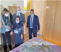 محافظ بني سويف يفتتح مشروع إعادة تأهيل 253 منزلاً في 8 قرى
