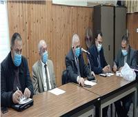 """""""وكيل تعليم دمياط"""" يطمئن مجلس أمناء المحافظة على انتهاء كافة إجراء الامتحانات النقل المجمعة"""