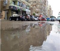 أمطار خفيفة إلى متوسطة في ضواحي السويس| فيديو